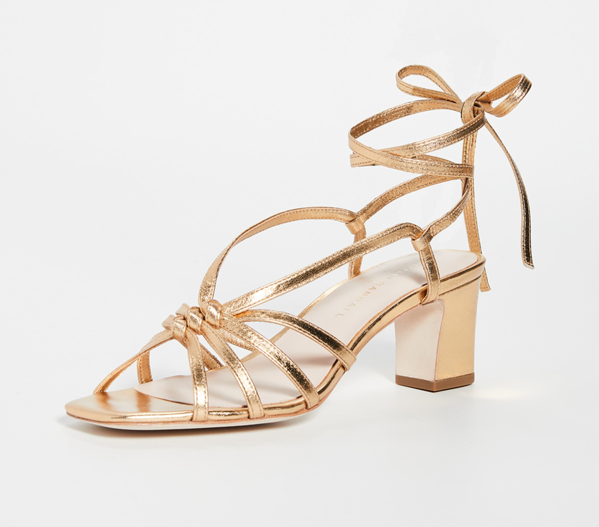 Loeffler Randall 'Libby' Knotted Wrap Sandals, $350, available here.