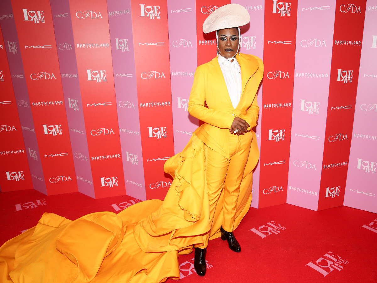 Billy Porter in Francis Libiran at The Love Ball III in New York City. Photo: Mike Vitelli/BFA
