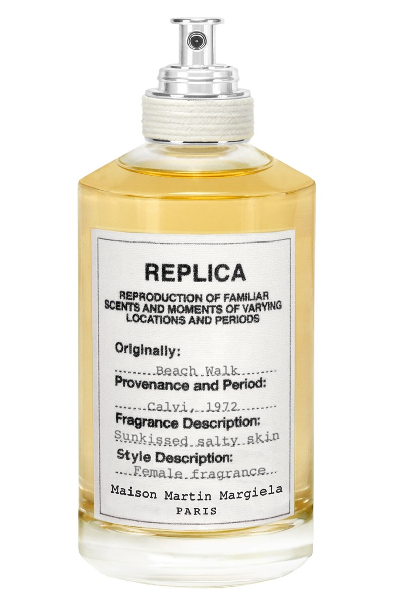 Maison Margiela Replica Beach Walk, $126, available here. Photo: Courtesy of Maison Margiela Fragrances