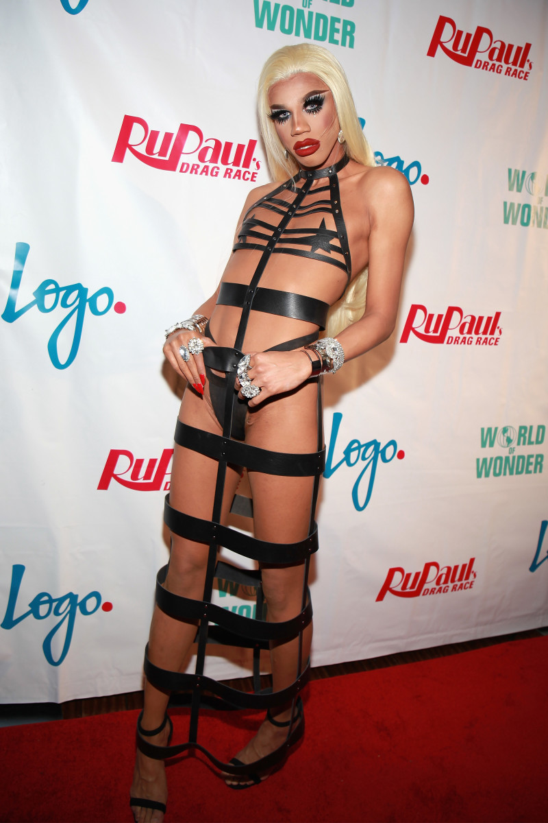"Naomi Smalls at the ""RuPaul's Drag Race"" Season 8 Finale Party. Photo: Santiago Felipe/Getty Images for RuPaul's Drag Race"