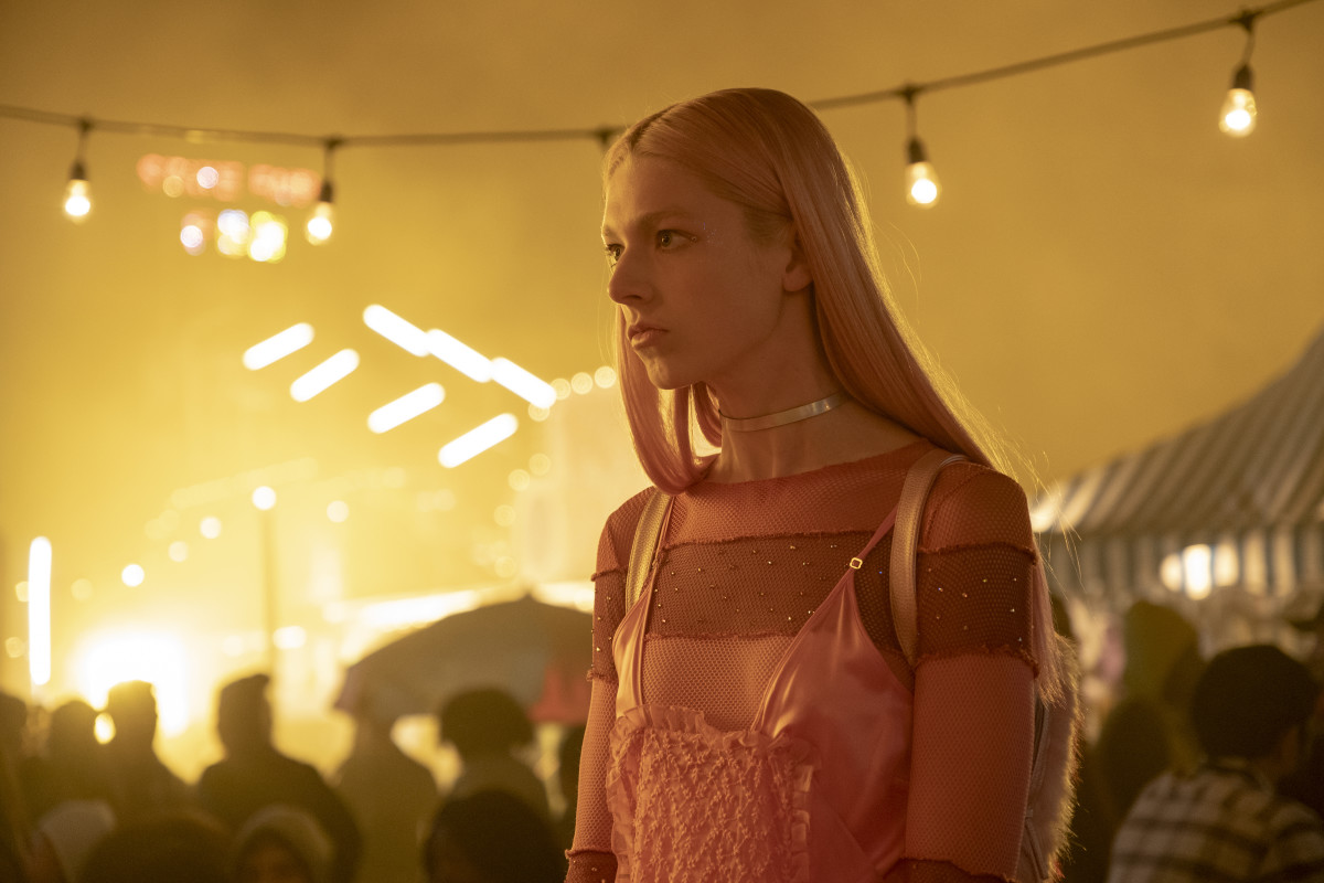 "Hunter Schafer in ""Euphoria."" Photo: Eddy Chen/Courtesy of HBO"