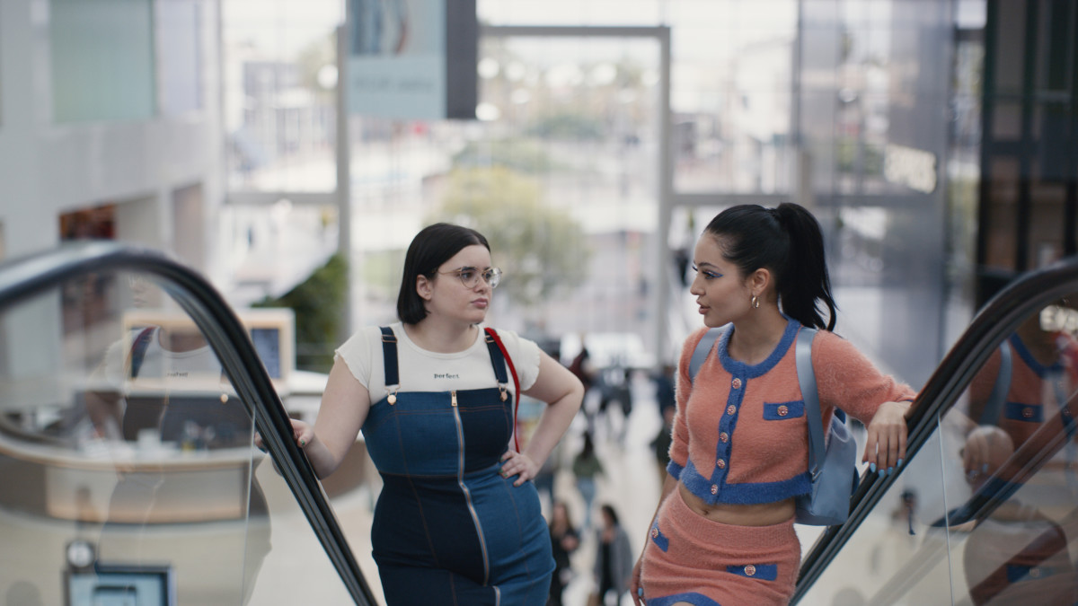 "Barbie Ferreira and Alexa Demie in ""Euphoria."" Photo: Courtesy of HBO"