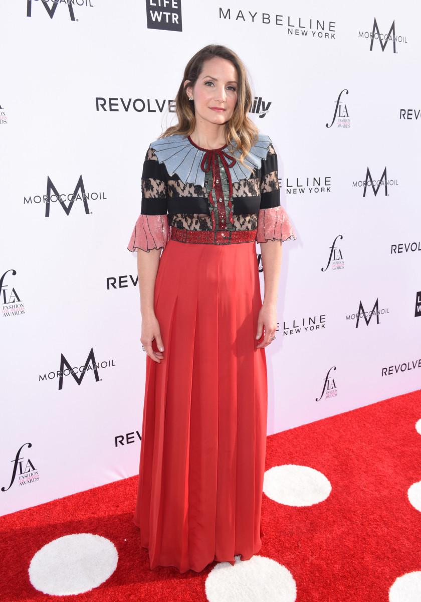 Samantha McMillen at the Fashion L.A. Awards. Photo: Vivien Killilea/Getty Images
