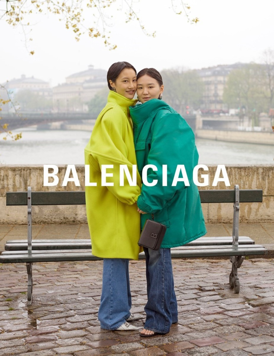 An image from Balenciaga's Fall 2019 campaign. Photo: Greg Finck
