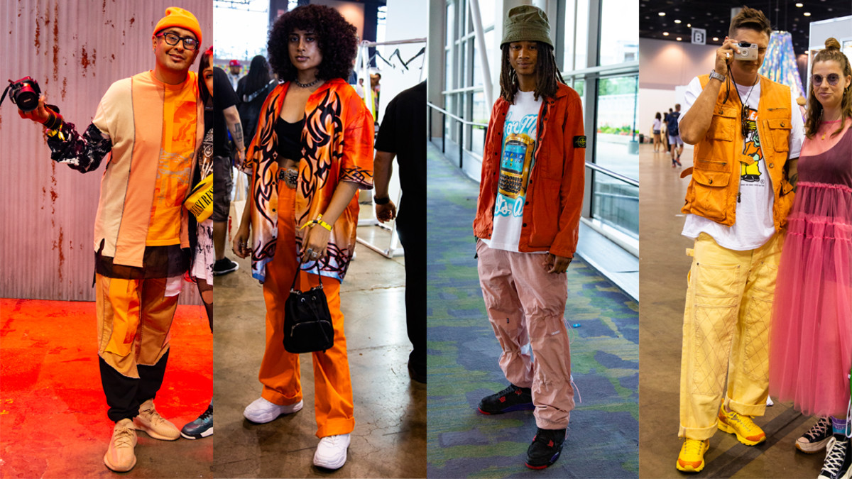 Orange at ComplexCon 2019 in Chicago. Photos: Emily Malan/Fashionista