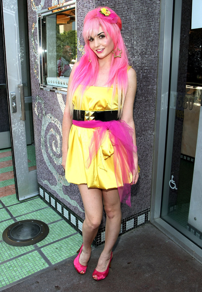 MySpace Scene Queen Audrey Kitching at a 2008 event. Photo: Alberto E. Rodriguez/Getty Images