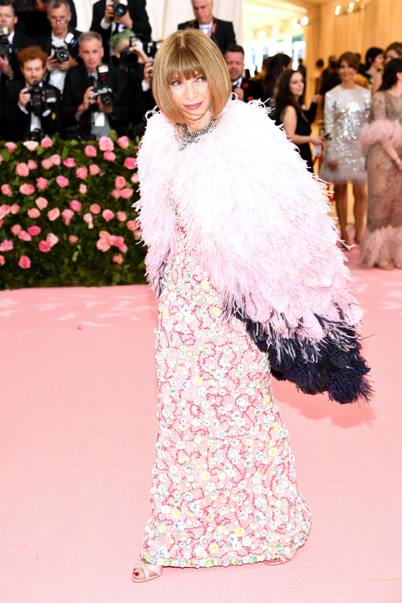 Anna Wintour at the 2019 Met Gala. Photo: Dimitrios Kambouris/Getty Images for The Met Museum/Vogue