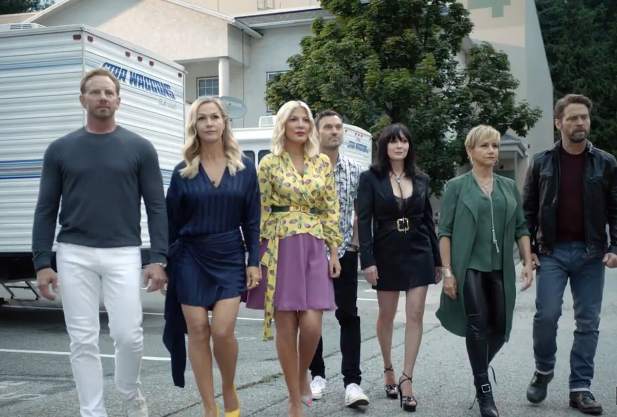 The 'Beverly Hills, 90210' Cast Gets a 'Heightened' Wardrobe