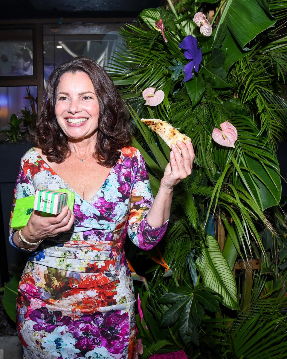 Fran Drescher at Edie Parker Flower's 'The Garden of Edie' Party at Eric Buterbaugh Perfumery. Linnea Stephan / BFA