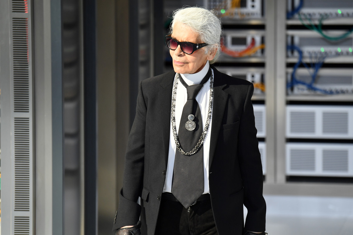 Karl Lagerfeld. Photo: Pascal Le Segretain/Getty Images