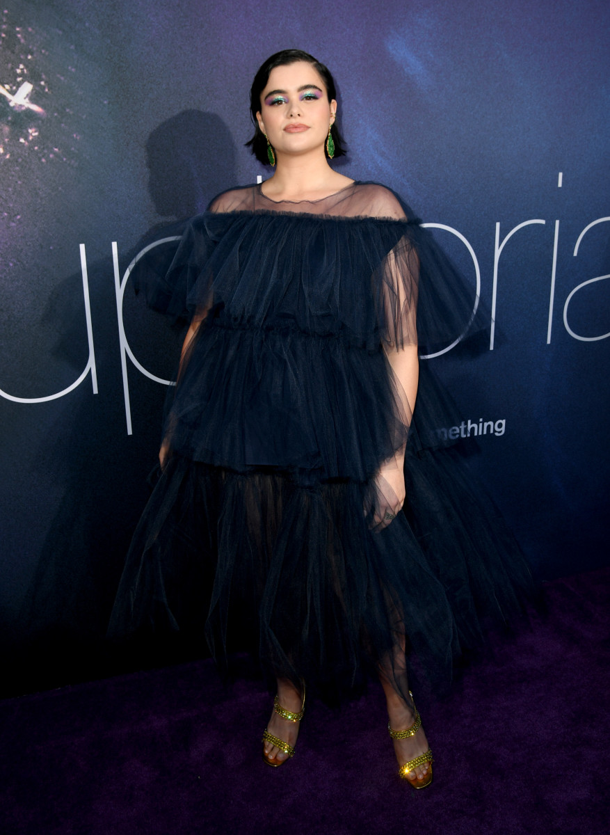 """Barbie Ferreira at the LA Premiere of HBO's """"Euphoria"""". Photo: Kevin Winter/Getty Images"""