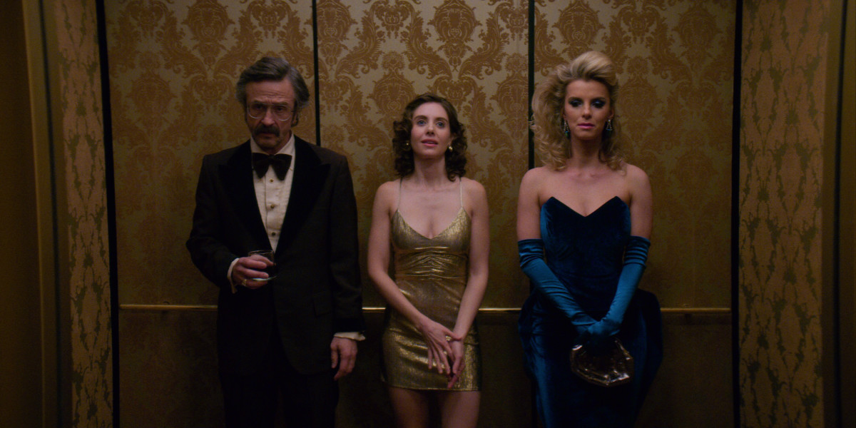 Sam (Marc Maron), Ruth (Alison Brie) and Debbie (Betty Gilpin). Photo: Courtesy of Netflix