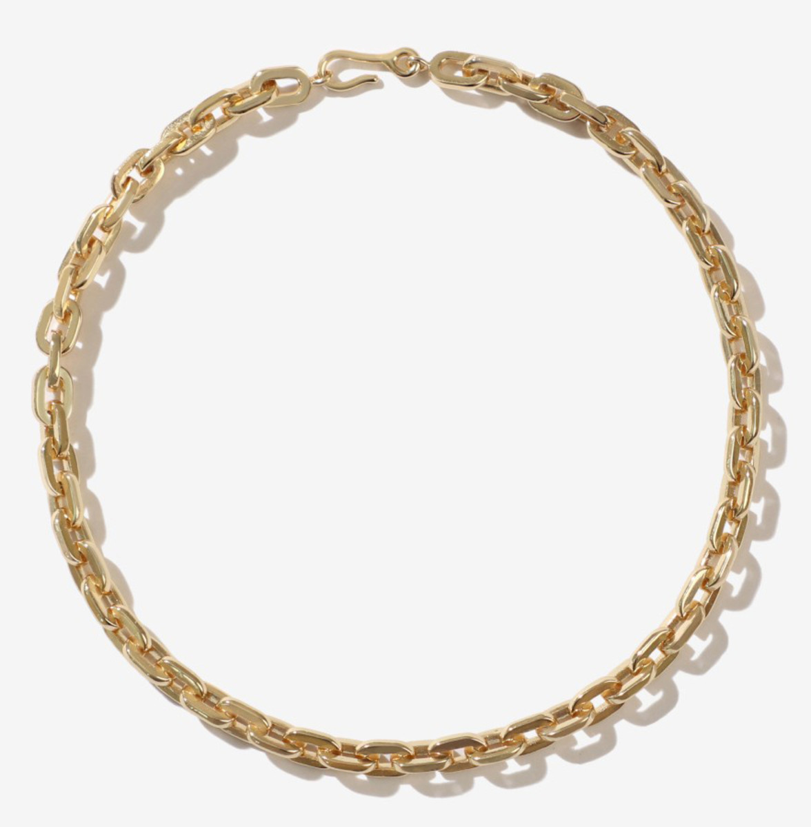 Adornmonde Elihu Gold Chain Anklet, $106, available here.