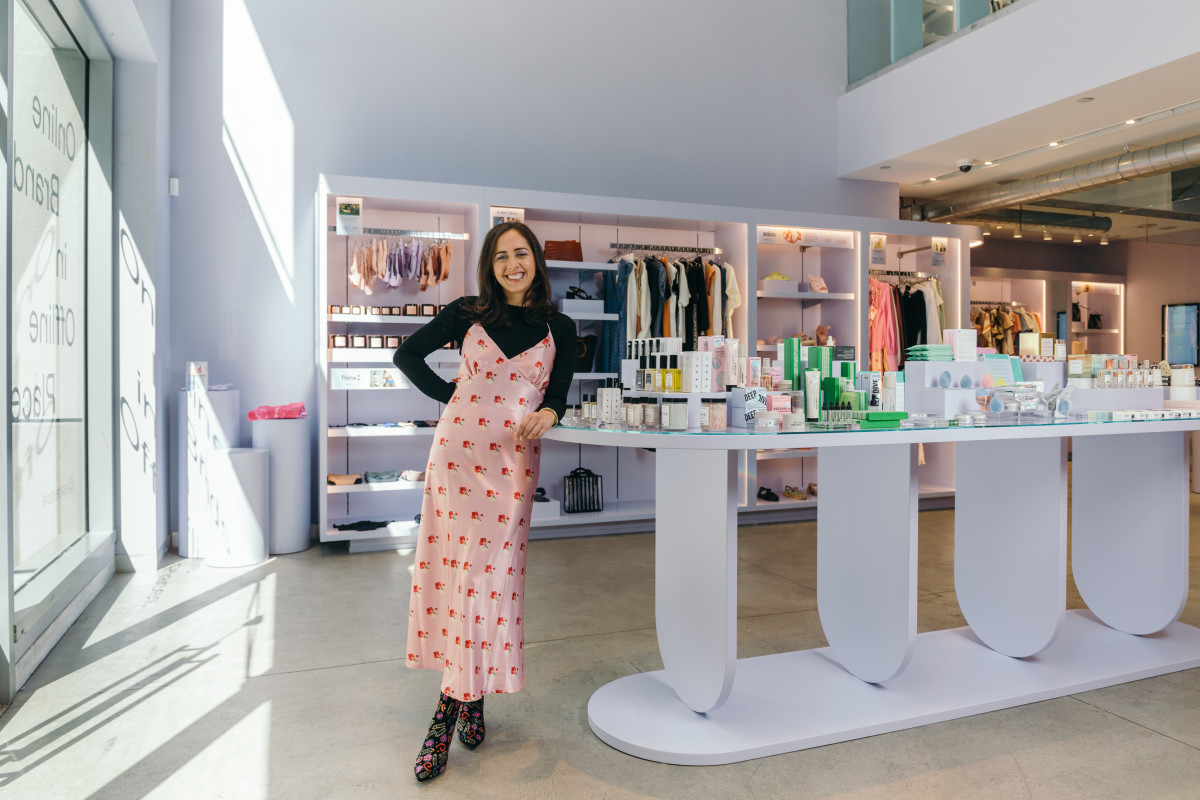 Selene Cruz at Re:store. Photo: Courtesy of Re:store