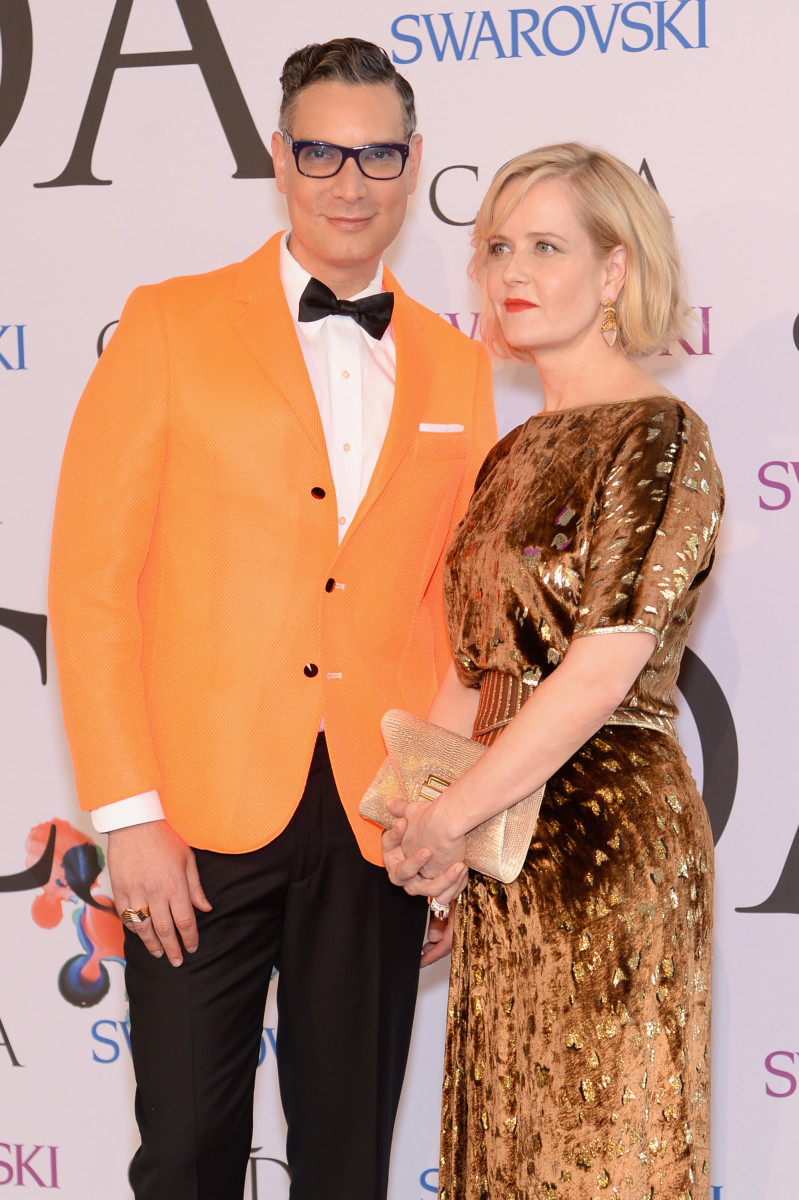 Cameron Silver and Kara Ross a the 2014 CFDA Fashion Awards. Photo: Dimitrios Kambouris/Getty Images