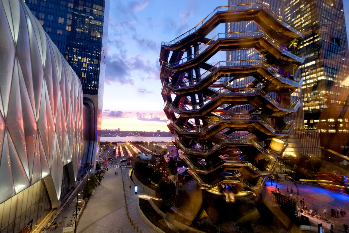 Hudson Yards. Photo: Dimitrios Kambouris/Getty Images for Related-Oxford