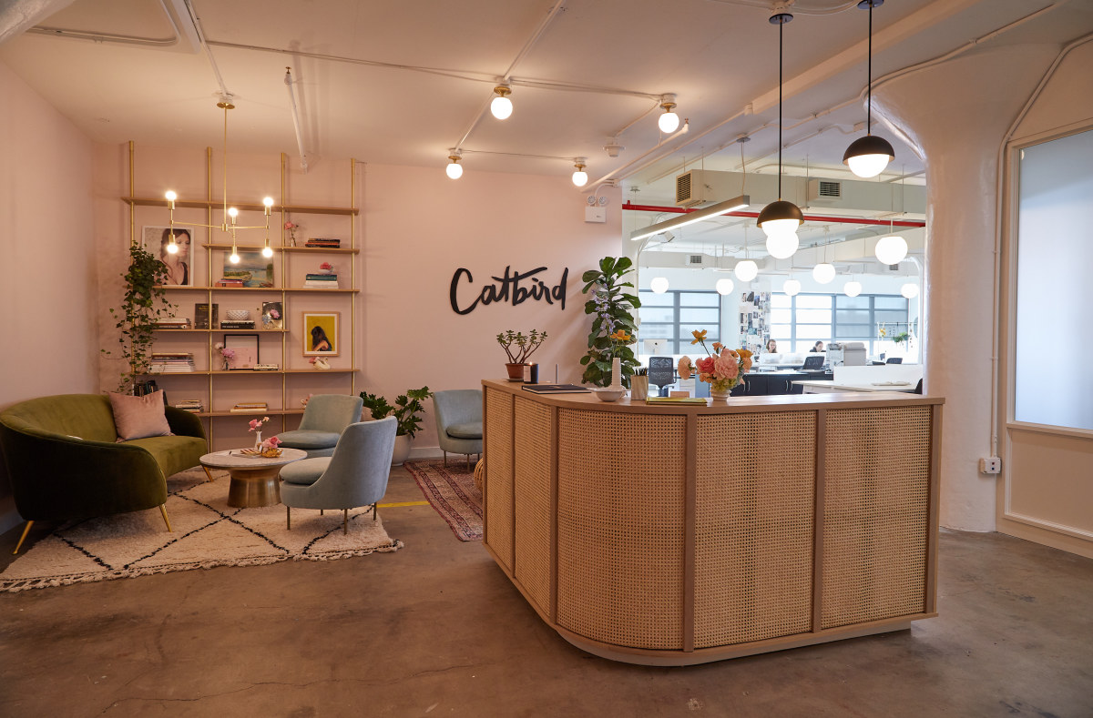 Inside Catbird's headquarters. Photo: Courtesy of Catbird