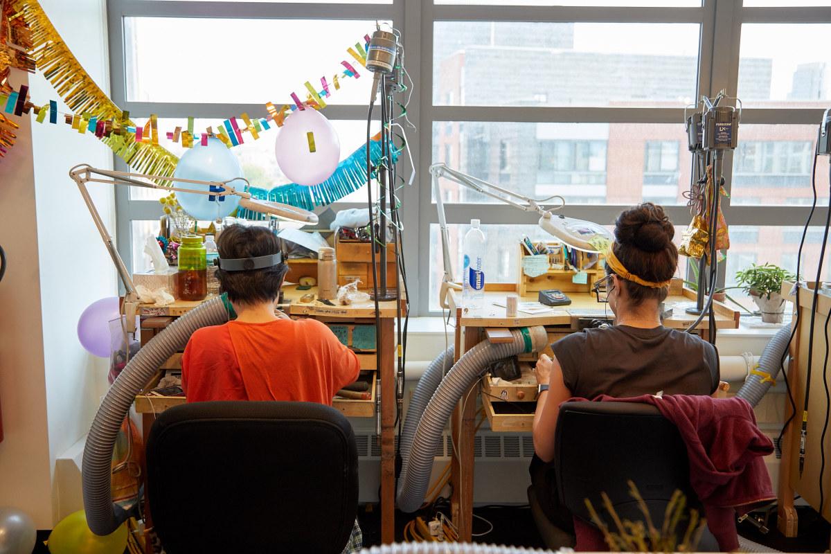 Catbird's jewelry studio. Photo: Courtesy of Catbird
