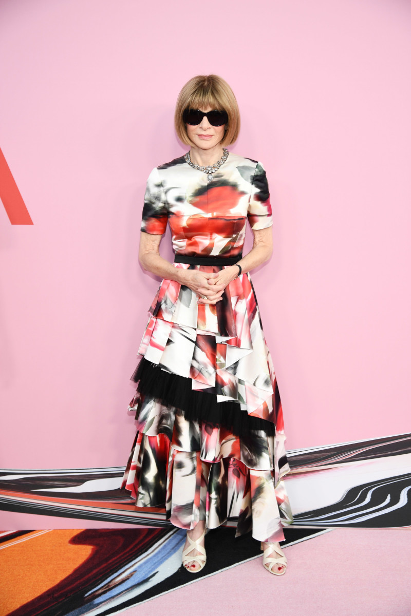 Anna Wintour at the 2019 CFDA Fashion Awards. Photo: Dimitrios Kambouris/Getty Images