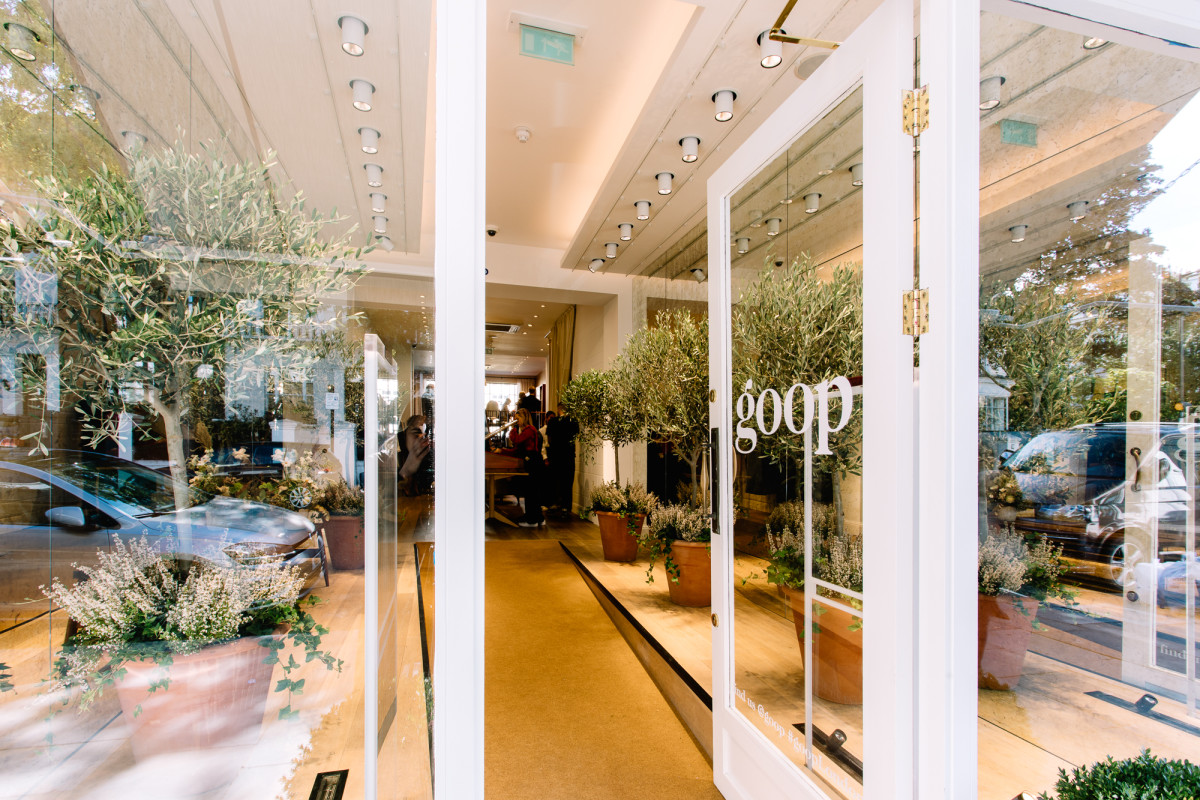 A pop-up for Appear Here client Goop. Photo: Courtesy of Appear Here