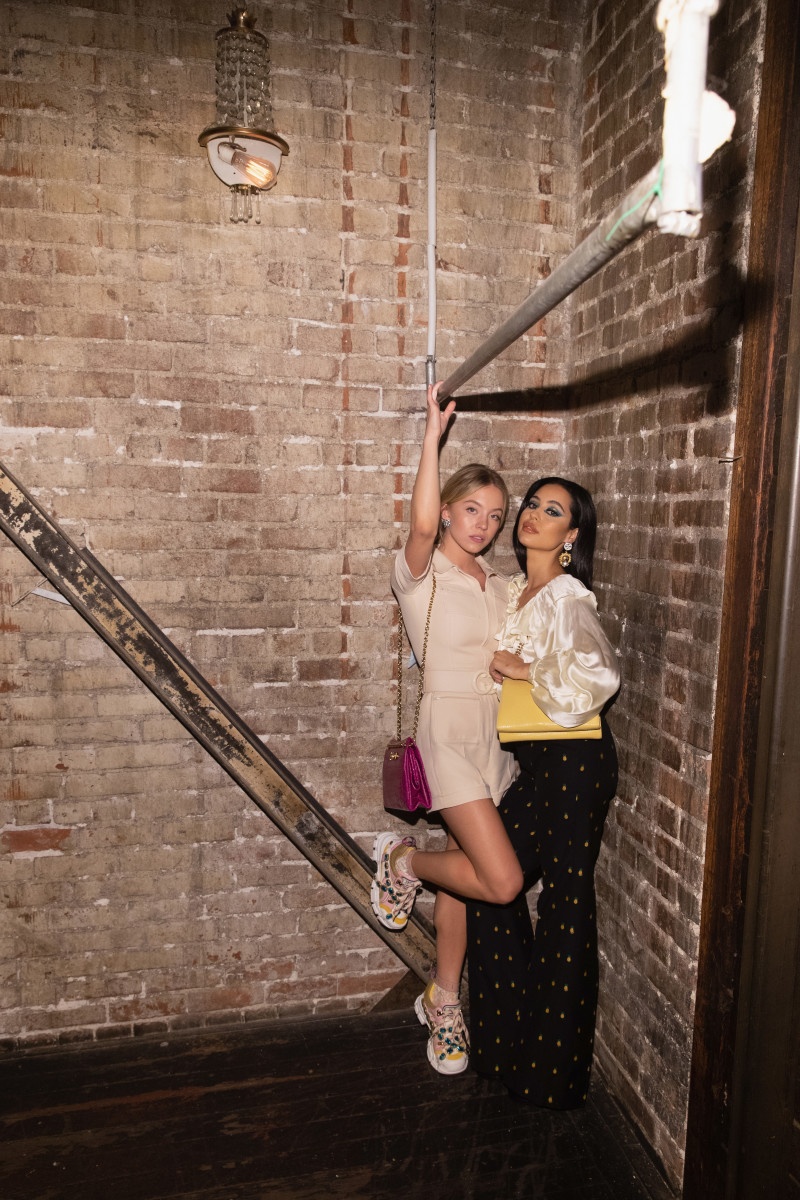 Sydney Sweeney and Alexa Demie at Barboza in Seattle. Photo: Mat Hayward/Getty Images for Nordstrom