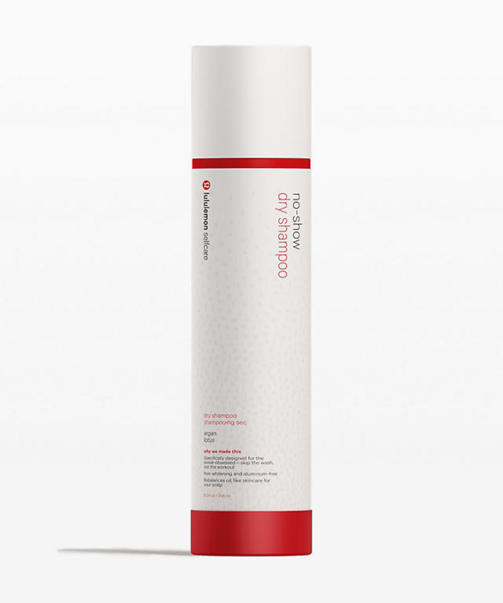 Lululemon Selfcare No-Show Dry Shampoo, $34, available here.