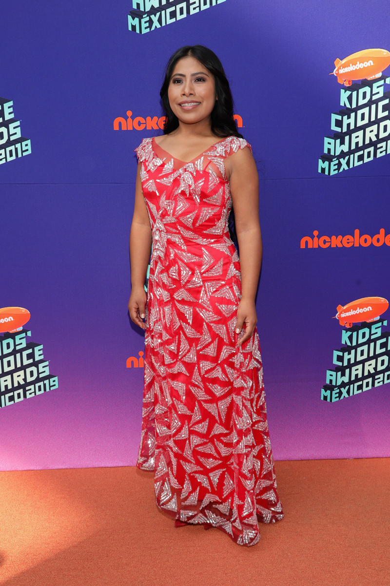 Yalitza Aparicio in Rodarte at the Nickelodeon Kids's Choice Awards Mexico 2019 in Mexico City. Photo: Victor Chavez/Getty Images