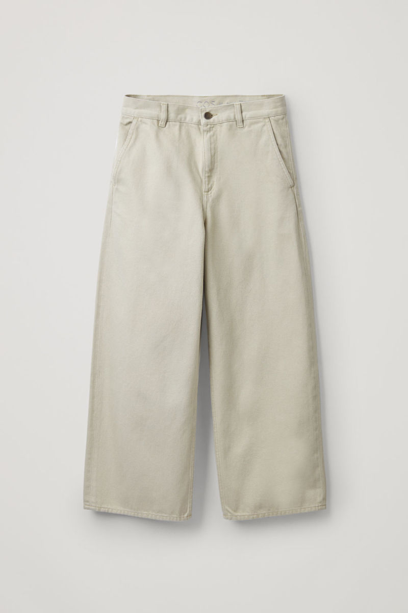 Cos Barrel Leg Jeans, $115, available here.
