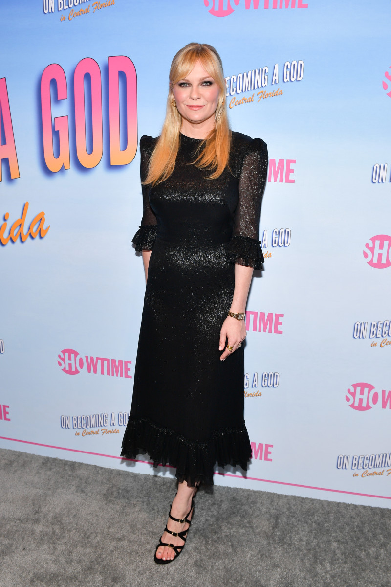 """Kirsten Dunst in The Vampire's Wife at the premiere of """"On Becoming a God in Central Florida."""" Photo: Matt Winkelmeyer/Getty Images"""