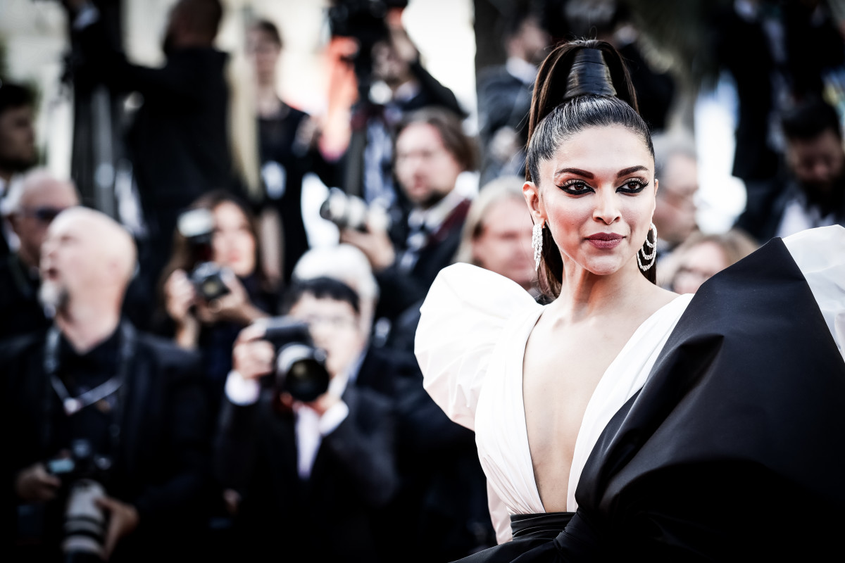 Deepika Padukone at the 2019 Cannes Film Festival. Photo: Vittorio Zunino Celotto/Getty Images