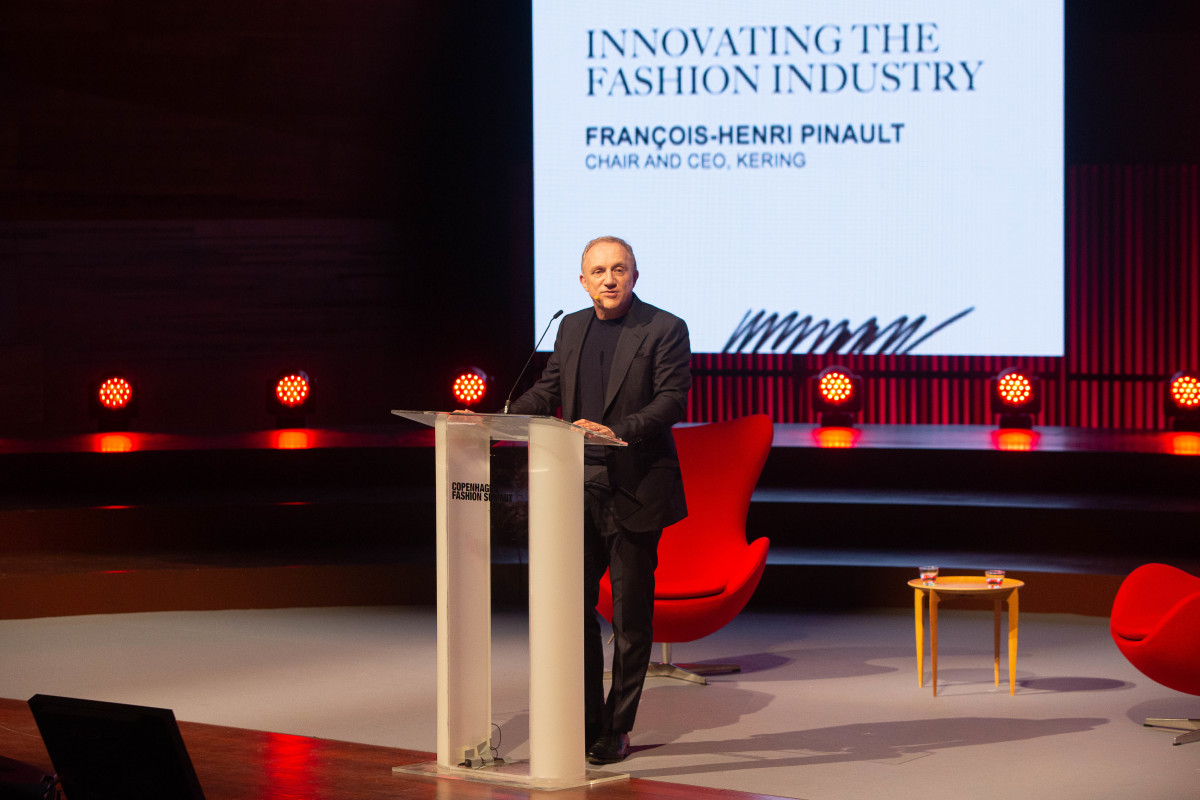 Kering CEO François-Henri Pinault. Photo: Ole Jensen/Getty Images for Copenhagen Fashion Summit