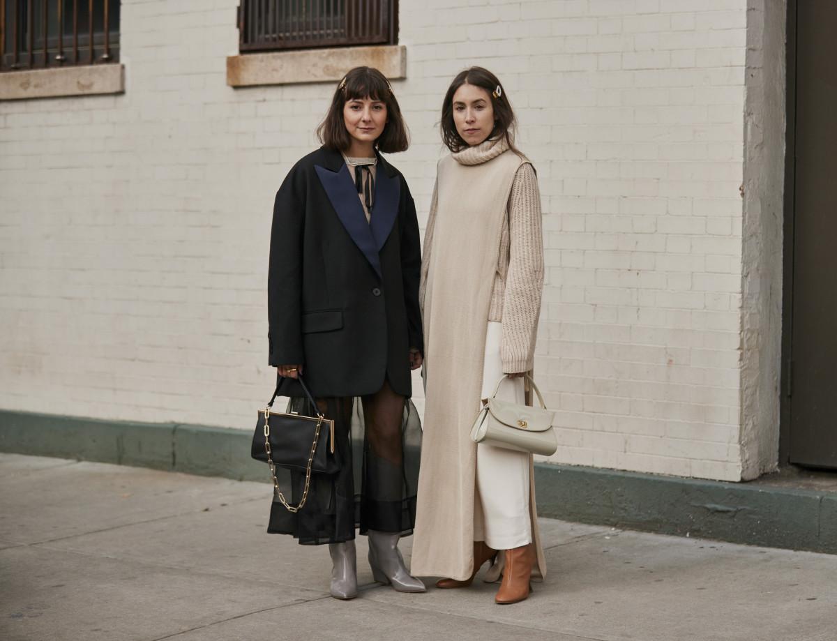 Alyssa Coscarelli and Lauren Caruso. Photo: Imaxtree
