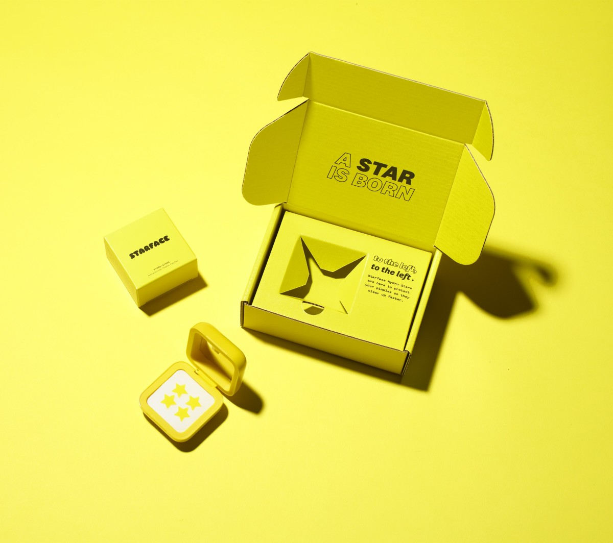 Starface's packaging. Photo: Courtesy