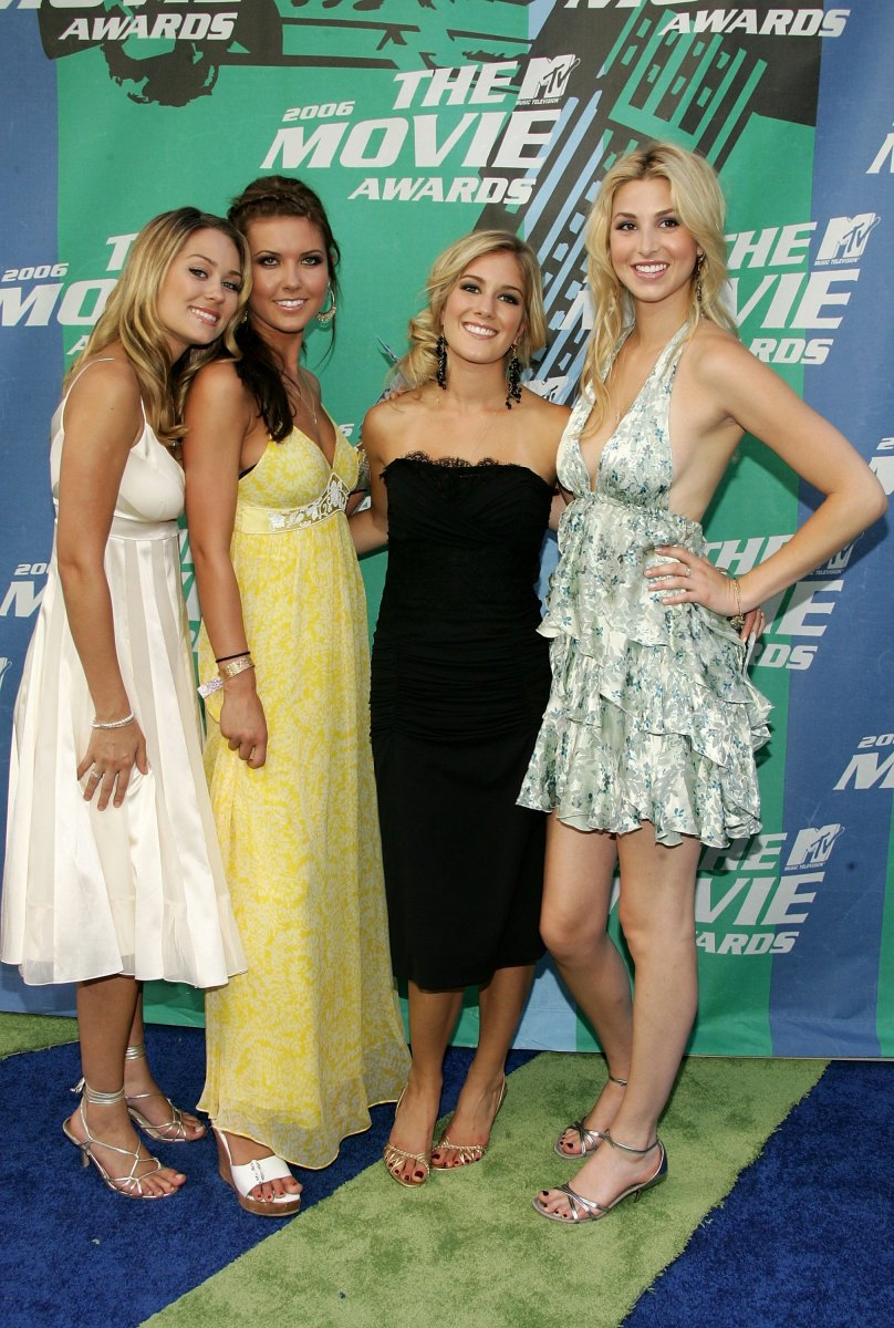 The cast of 'The Hills' at the 2006 MTV Movie Awards. Photo:Frazer Harrison/Getty Images