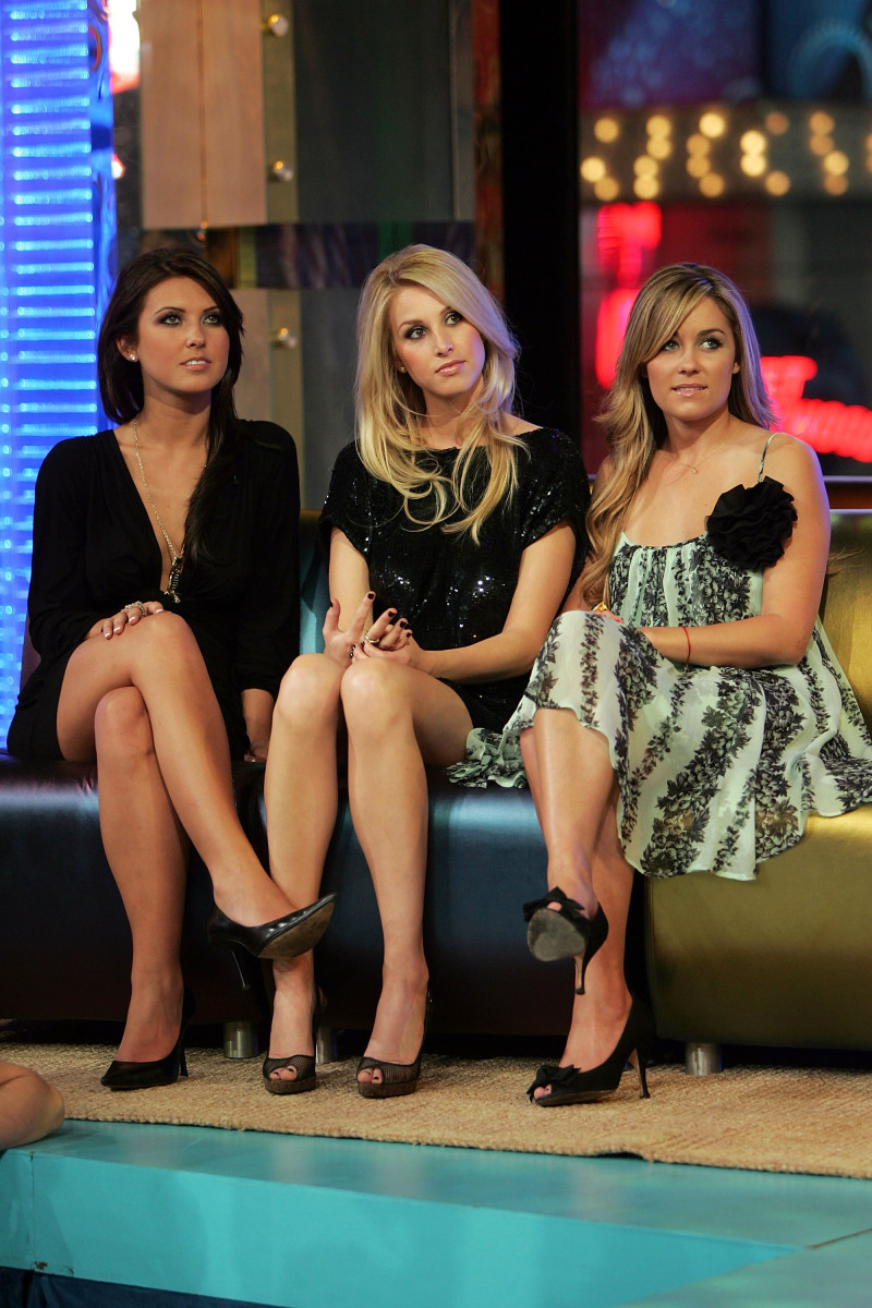 Audrina Patridge, Whitney Port and Lauren Conrad in 2007. Photo: Scott Gries/Getty Images