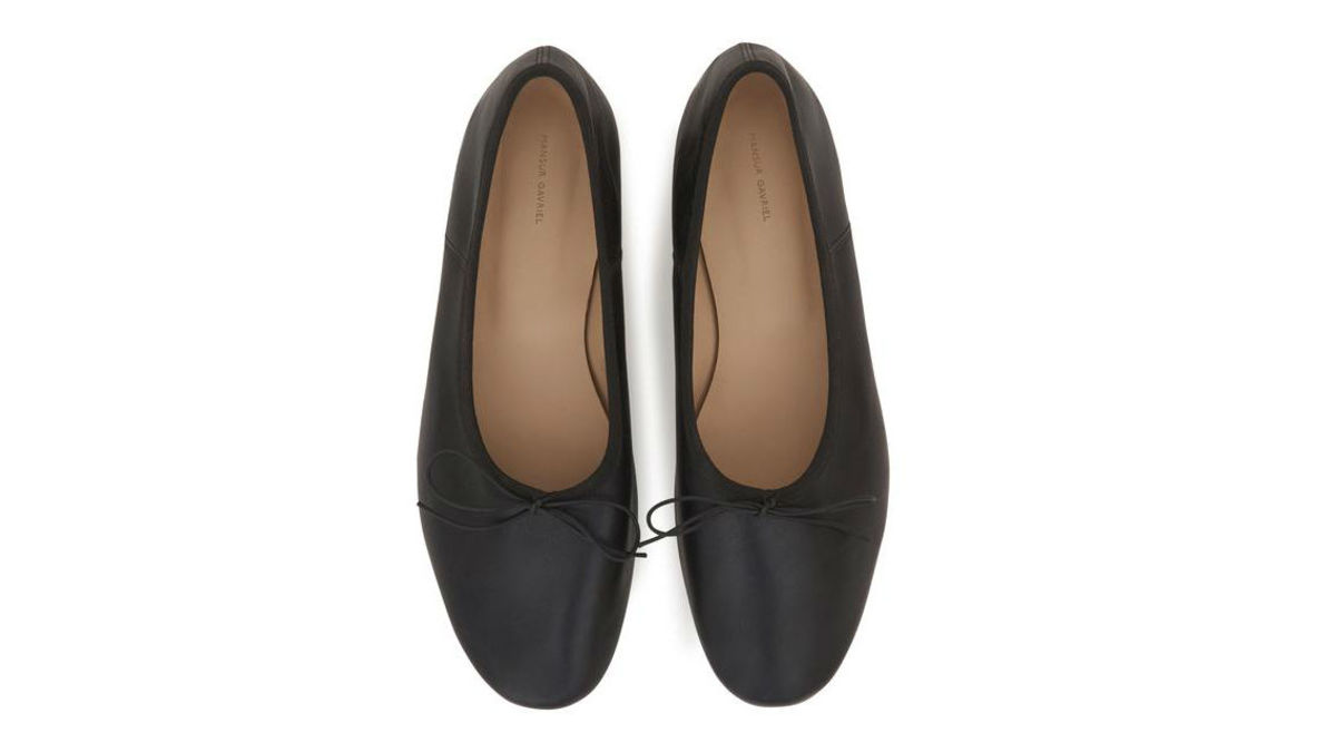 Mansur Gavriel Dream Ballerina, $295, available here.