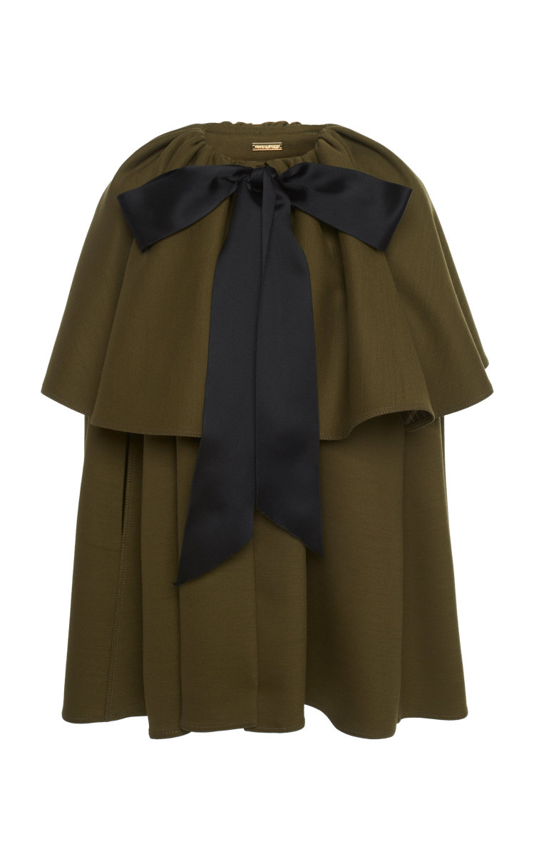 Adam Lippes Tiered Cape, $1,690, available here.