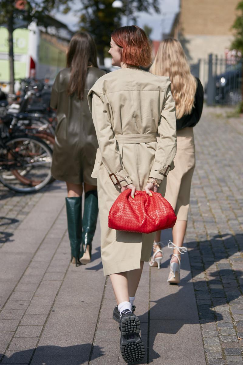 "Bottega Veneta's the ""Pouch"" clutch. Photo: Imaxtree"