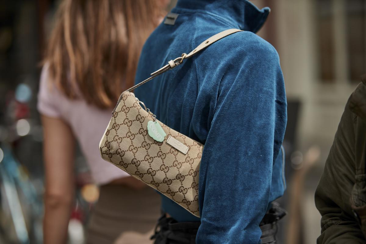 A Gucci shoulder bag. Photo: Imaxtree