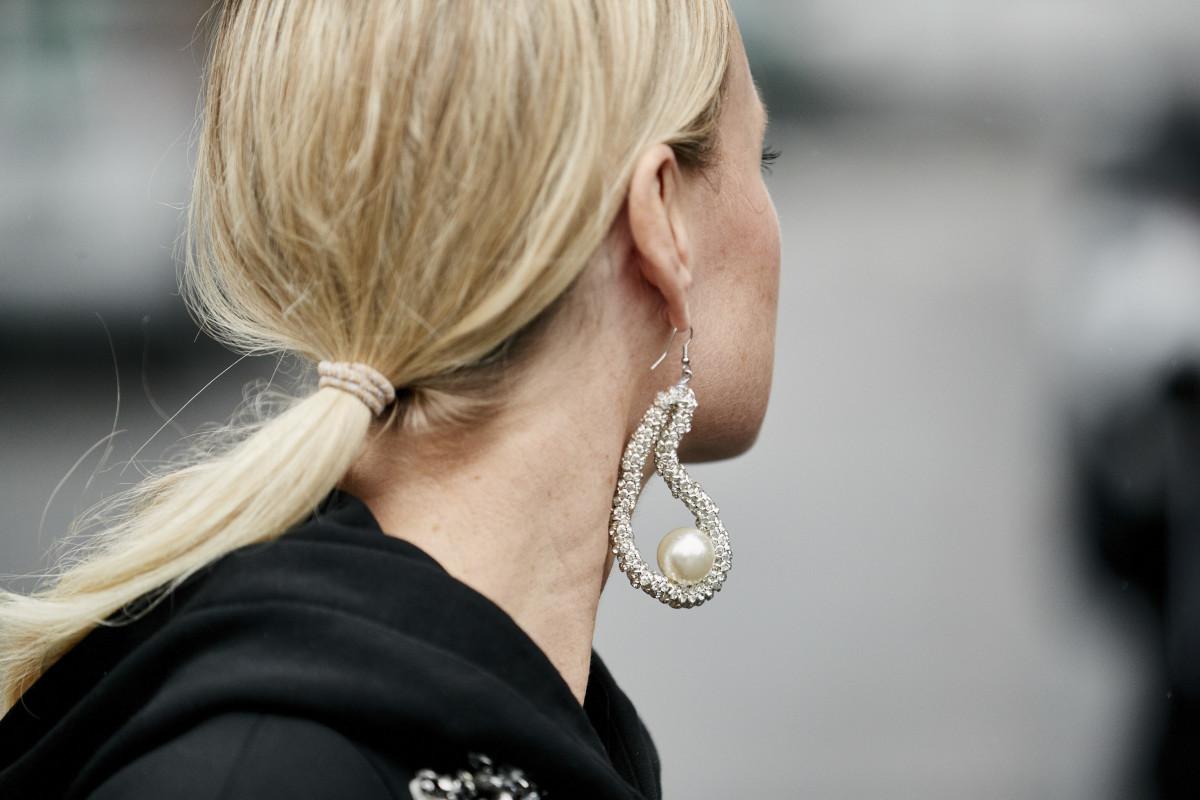 Pearl jewelry. Photo: Imaxtree