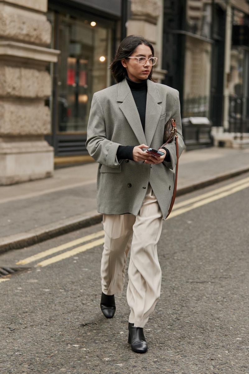 Boxy blazer. Photo: Imaxtree