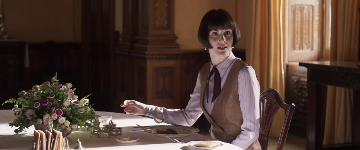 Lady Mary (Michelle Dockery) in her work-wear. Photo: Screengrab/'Downton Abbey' trailer