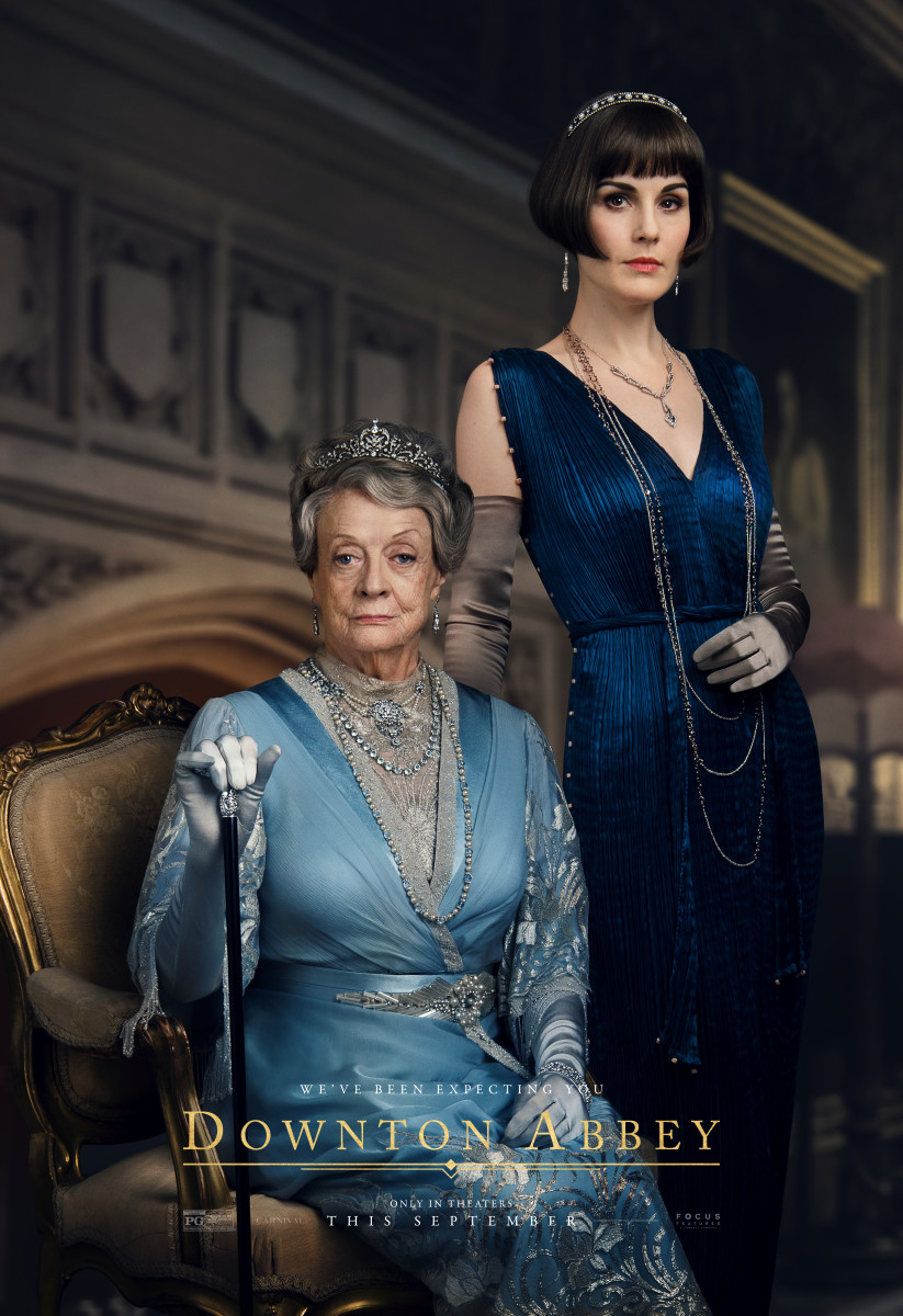 Dowager Countess Violet (Maggie Smith) and Mary. Photo: Courtesy of Focus Features