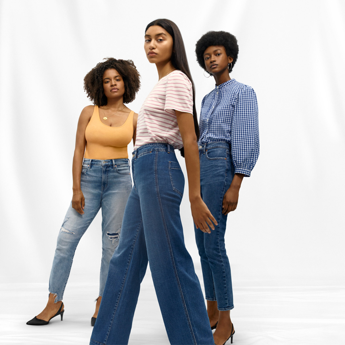 """Gap """"It's Our Denim Now"""" campaign. Photo: Tyler Mitchell"""