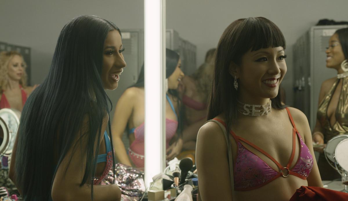 Diamond (Cardi B) and Destiny. Photo:Courtesy of STXfilms