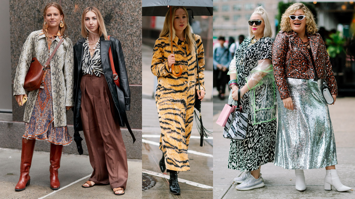 New York Fashion Week 2020 Dates.The Street Style Crowd Wore Their Best Animal Prints On Day