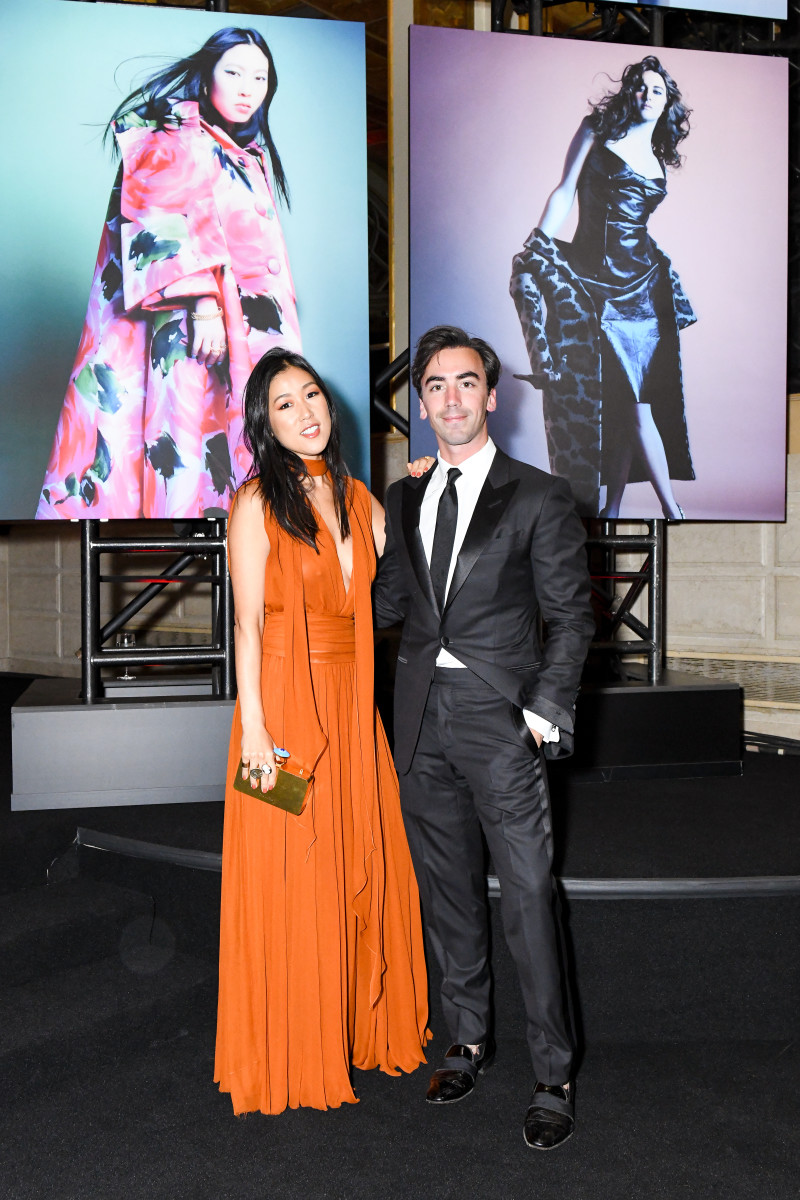 Laura Kim and Fernando Garcia. Photo: Joe Schildhorn/BFA.com/Courtesy of Harper's Bazaar
