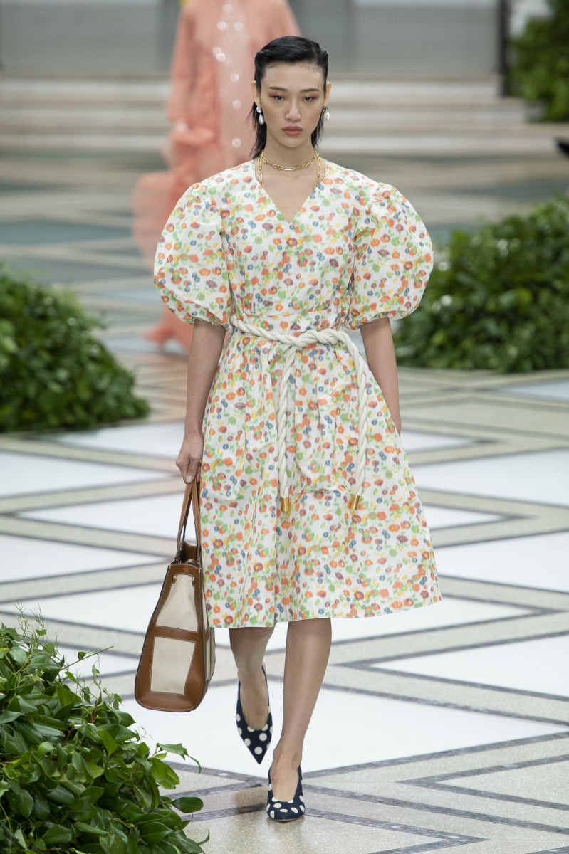 A look from the Tory Burch Spring 2020 collection. Photo: Imaxtree