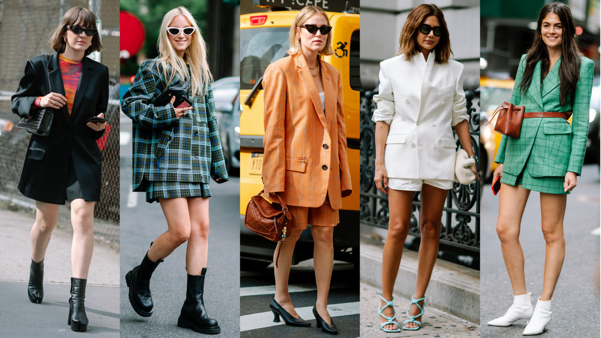 Short Suits Were a Street Style Hit on Day 3 of New York