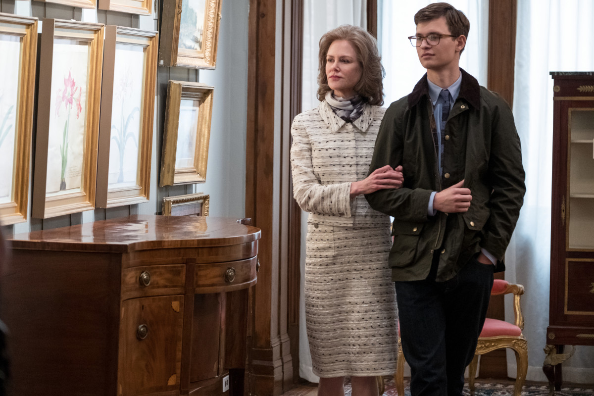 Mrs. Barbour (Nicole Kidman) and Theo. Photo: Macall Polay/Courtesy of Warner Bros. Pictures